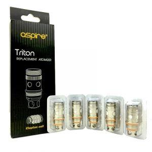 Aspire Triton mini Clapton Coils