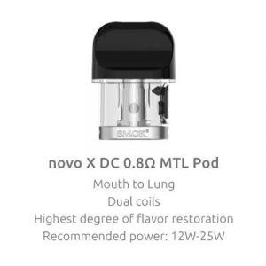 Smok NOVO X Replacement Pod