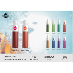 Thirsty 5% Disposable Device - 3500 Puffs - 10 Pack