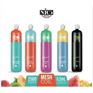 Nic5 Vapor OPUS 5% Disposable Device - 2500 Puffs - 10 Pack